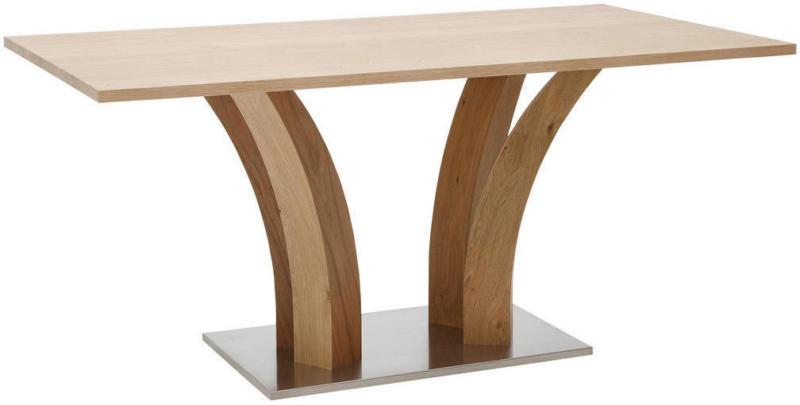 Esstisch in Holz, Metall, Holzwerkstoff 200/100/76 cm