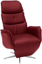 Relaxsessel In Leder Rot