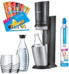 Expert SodaStream Crystal 2.0-Set titan Wassersprudler inkl. Zubehör