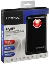 "Intenso Memory Case 2,5"" 2 TB externe Festplatte, USB 3.0 kompatibel mit USB 2.0"