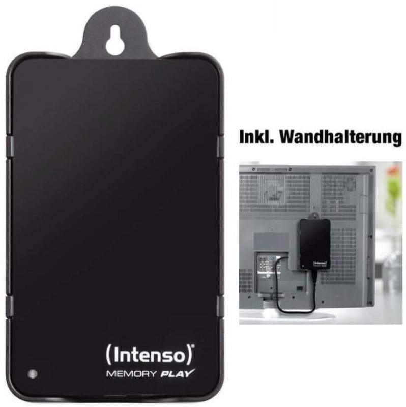 "Intenso Memory Play 2.5"" 1 TB externe TV-Festplatte, USB 3.0, PVR ready"