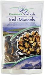 Irische Muscheln natur, gefroren, jeder 1000-g-Beutel