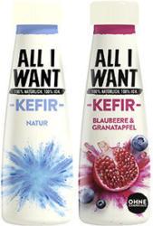 Danoe All I Want Kefir versch. Sorten, jede 260-g-Flasche