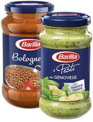 Barilla Pesto oder Ricetta Sauce versch. Sorten, jedes 175/190/195/200/400-g-Glas