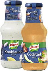 Knorr Schlemmersaucen versch. Sorten,  jede 250-ml-Flasche