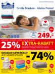 Dänisches Bettenlager Große Marken - kleine Preise - bis 31.08.2019