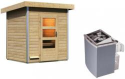 Saunahaus Nantes Integrierte Steuerung Am Ofen Naturfarben