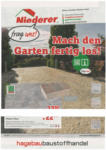 hagebaumarkt Niederer Hagebaumarkt Niederer - K4-Kompetenzflugblatt - bis 05.10.2019