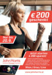 John Harris Fitness John Harris Fitness - 200€ sparen! - bis 20.09.2019