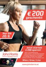 John Harris Fitness - 200€ sparen!