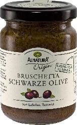 Bruschetta Schwarze Olive