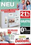 Möbel Debbeler Neueröffnung - bis 30.09.2019