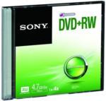 Expert Thaller Sony DPW47SS DVD+RW 4,7GB SlimCase DVD-Rohlinge 120 Min