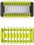 Expert Dohr Philips QP610/50 OneBlade Body-Kit Ersatzklingen, 1x Klinge + 1x Kammaufsatz