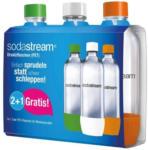 Expert Schwaiger SodaStream PET-Flasche 1 Liter 2+1er Pack für alle Modelle außer Crystal & Penguin