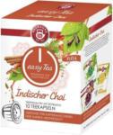Expert Rutter Teekanne Kapseln easy Tea Indischer Chai 10 Tee Kapseln geeignet für Nespresso Kaffeemaschinen