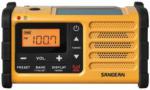 Expert Sabitzer Sangean MMR-88 tragbarer Radio mit Spannungsversorgung via Solarzellen & Handkurbel