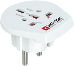 Skross World to Europe Reiseadapter Strom (2-&3-polig