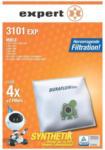 Expert ETECH Expert 3101 EXP Staubbeutel, Inhalt: 4 Beutel + 2 Filter