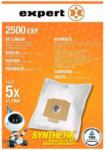 Expert Geroldinger Expert 2500 EXP Staubbeutel, Inhalt: 5 Beutel + 1 Filter