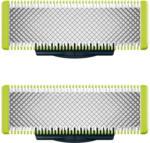 Expert Dohr Philips QP220/50 OneBlade 2er Pack Ersatzklinge für QP6510/20 sowie QP6520/20