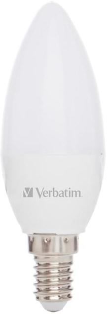 Verbatim LED-Kerze matt 3,1W E14 250lm, 2700K, Ersatz f. 25W Home-Line