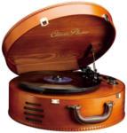 Expert Ziegelwanger Classic Phono TT34 Plattenspieler in Holzkofferoptik, mit USB-Direktaufnahme