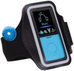 Expert Plankensteiner Lenco PODO153 blau Sport MP3-Player 4GB mit Schrittzähler/Pedometer