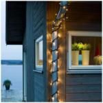 Expert Plankensteiner Konstsmide Maxi LED Lichterketten-Set 15,1m 50 warmweiße Dioden, für den AUSSENBEREICH (IP44