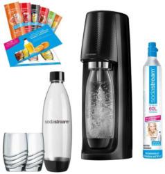 SodaStream Easy Promopack schwarz Wassersprudler inkl. Zubehör