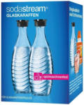 Expert Lenz SodaStream Glaskaraffe 2er Pack für SodaStream-Wassersprudler Penguin & Crystal