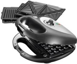 Unold Multi 3in1 Onyx Sandwichtoaster, Kontaktgriller und Waffeleisen