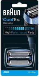 Braun CoolTec Ersatzscherkopf 40B Kombipack, für alle CoolTec Geräte