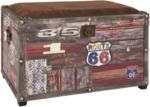Möbelix Truhenbank Timber 65cm Vintageoptik