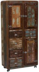 Mehrzweckschrank Lissabon B: 90 cm Altholz