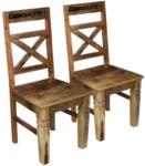 Möbelix Stuhl Brion Mangoholz lackiert 2er-Set