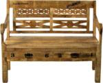 Möbelix Sitzbank Brion B: 120 cm Mangoholz