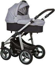 Kinderwagen Country Baby Grau/Schwarz