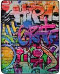 Möbelix Kuscheldecke Graffity