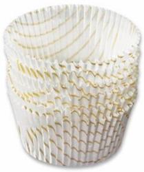 Backförmchen Weiß, Ø 5 cm