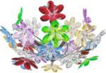 Möbelix Deckeleuchte Rainbow Ø 46 cm mit Bunten Acryl-Blumen