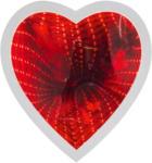 Möbelix Leuchtspiegel Herz mit Rotlicht