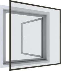 Insektenschutzgitter Rahmenfenster 100x120 cm