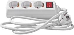 Steckdosenleiste mit Schalter 3-Fach