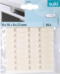 Schutzpuffer 8x1,6 cm + 8x2,2 cm, 36 Stück