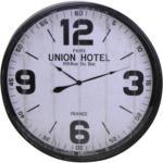 Möbelix Wanduhr Union Hotel DM: 90 cm
