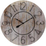 Möbelix Wanduhr Vintage Wood DM: 88 cm