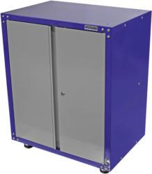 Werkstattschrank 2-Türig 67cm Grau/Blau