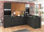 Möbelix Einbauküche Eckküche Möbelix Artstone/Artwood