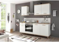 Küchenleerblock Quince 210cm Weiß